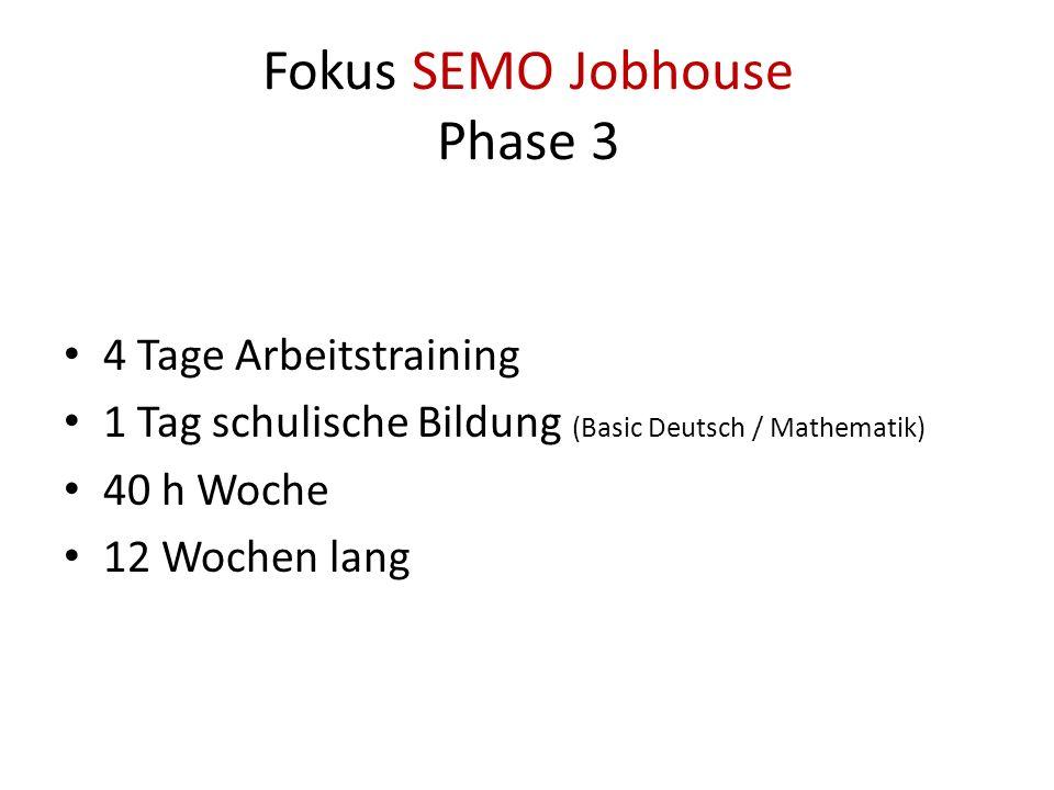Fokus SEMO Jobhouse Phase 3