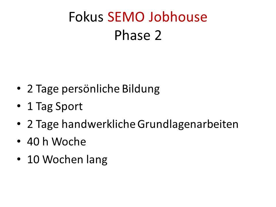 Fokus SEMO Jobhouse Phase 2