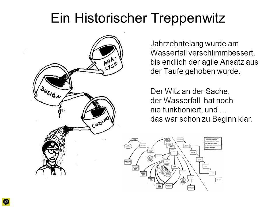 Ein Historischer Treppenwitz