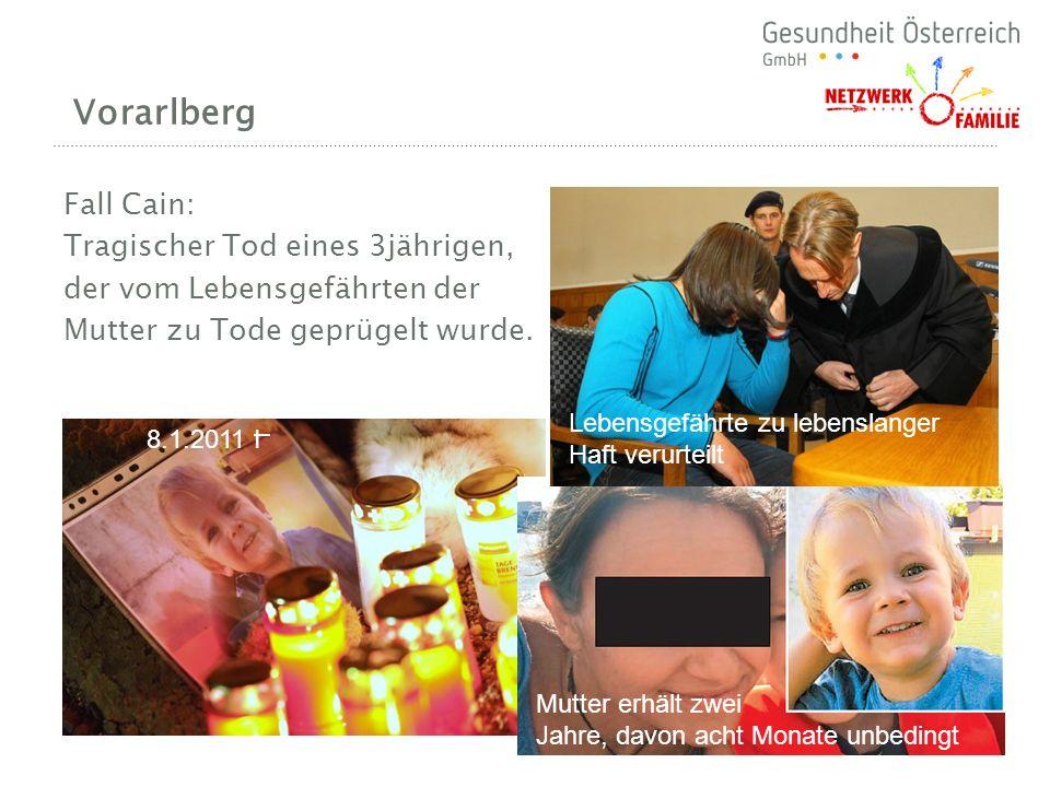 Vorarlberg Fall Cain: Tragischer Tod eines 3jährigen,