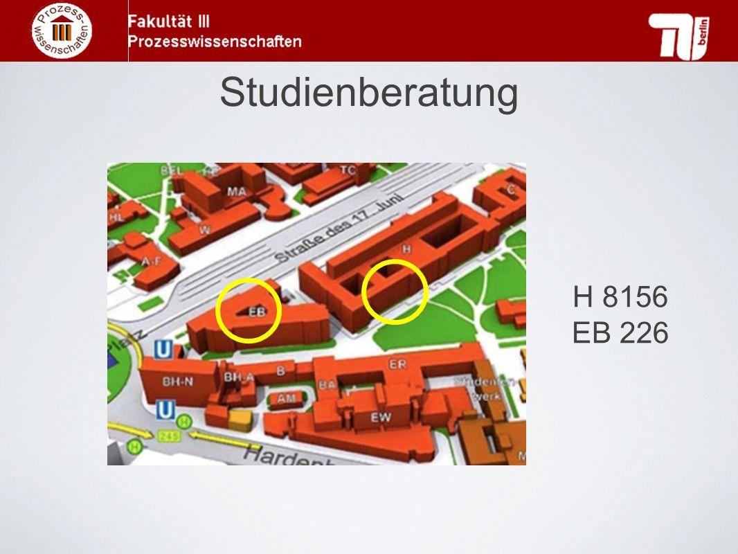 Studienberatung H 8156 EB 226