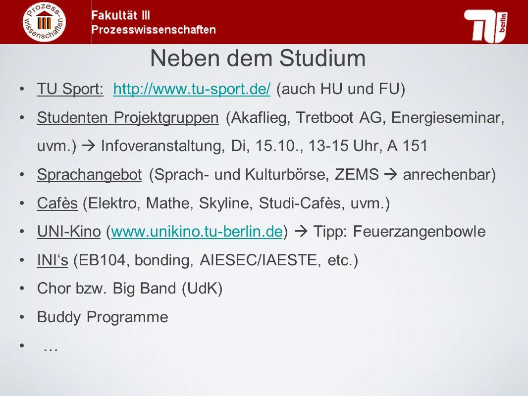 Neben dem Studium TU Sport: http://www.tu-sport.de/ (auch HU und FU)