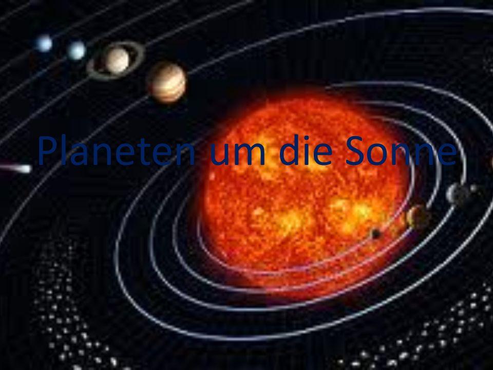 Planeten um die Sonne