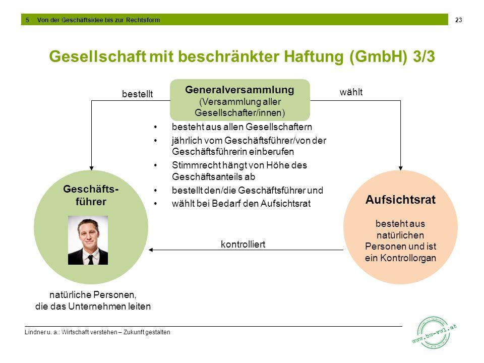 Gesellschaft mit beschränkter Haftung (GmbH) 3/3