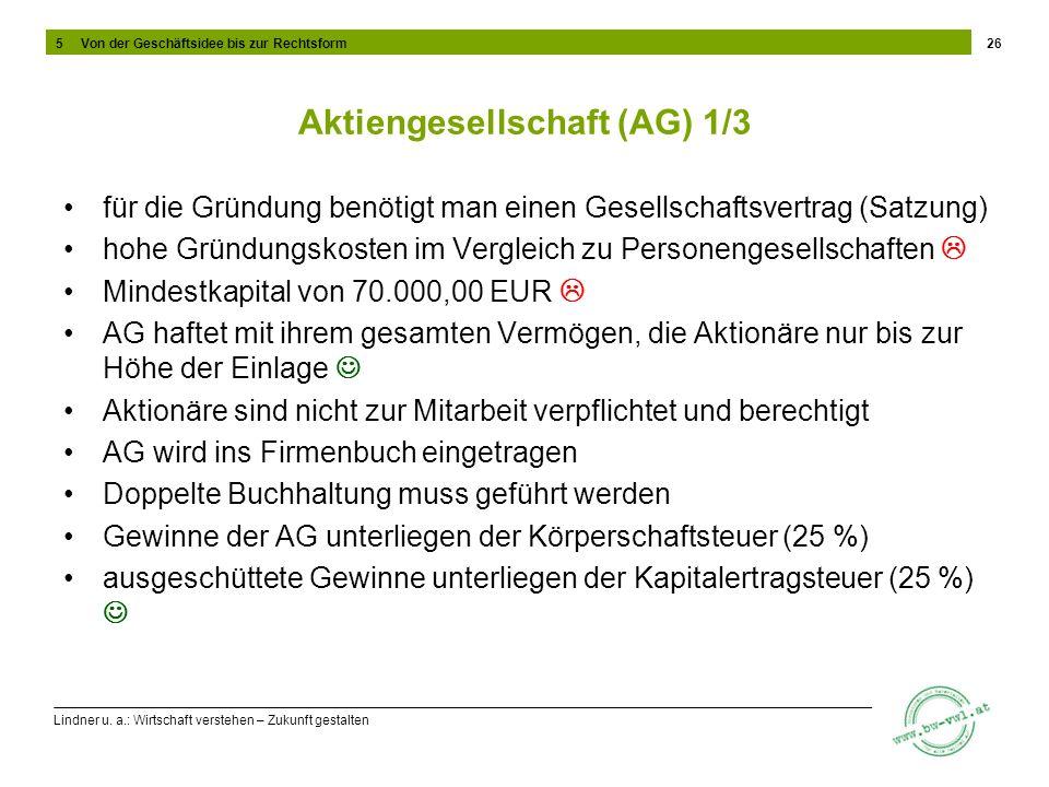 Aktiengesellschaft (AG) 1/3