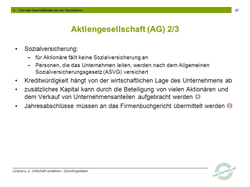 Aktiengesellschaft (AG) 2/3