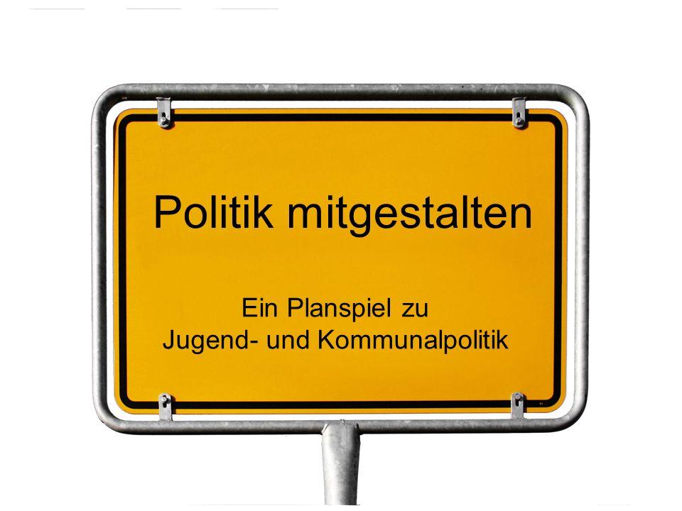 Jugend- und Kommunalpolitik