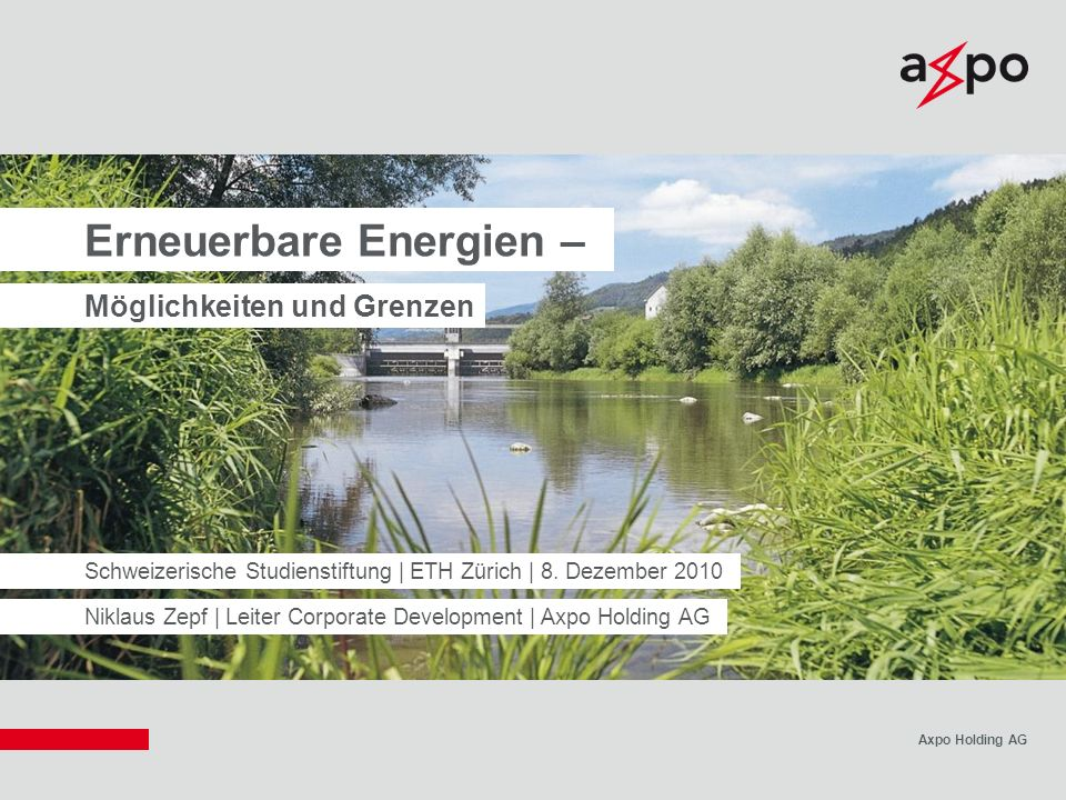 Erneuerbare Energien –