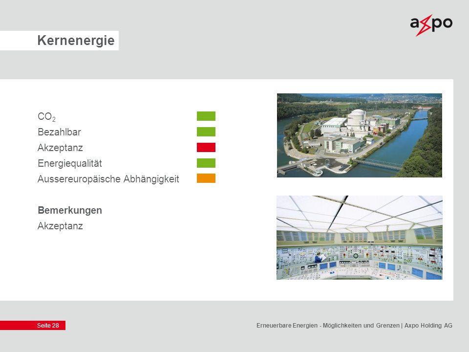 Kernenergie CO2 Bezahlbar Akzeptanz Energiequalität