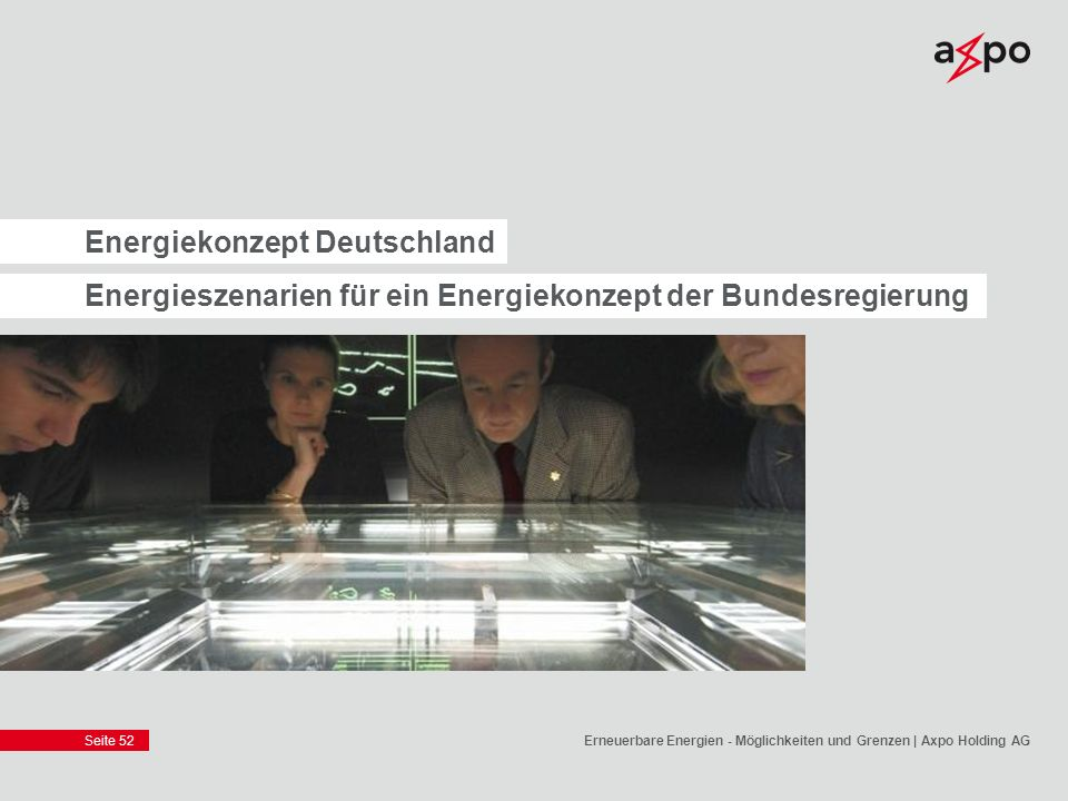 Energiekonzept Deutschland