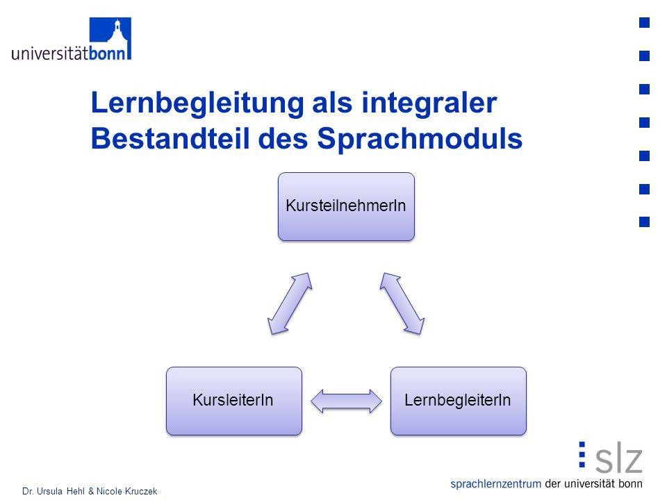 Lernbegleitung als integraler Bestandteil des Sprachmoduls