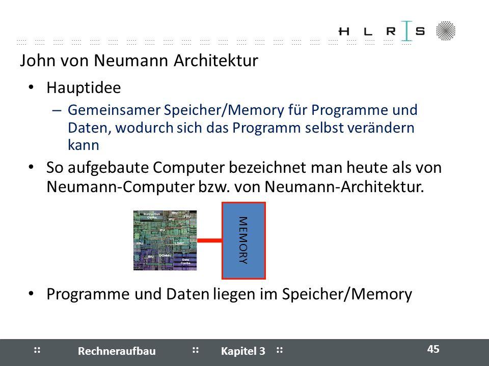 John von Neumann Architektur