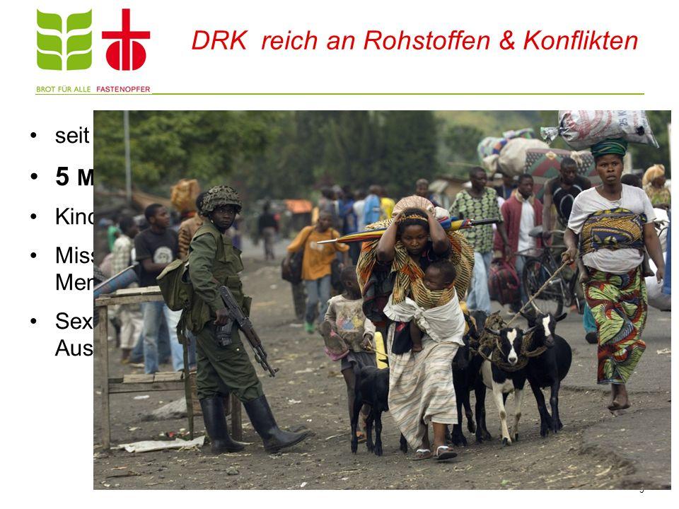 DRK reich an Rohstoffen & Konflikten