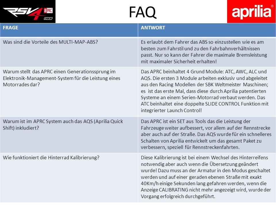 FAQ FRAGE ANTWORT Was sind die Vorteile des MULTI-MAP-ABS