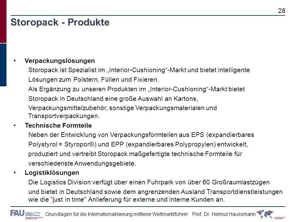 Storopack - Produkte Verpackungslösungen