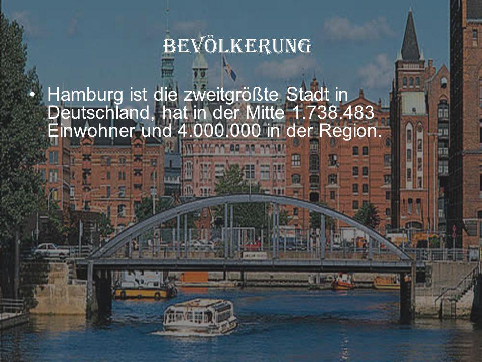 Hanburg BEVÖLKERUNG.