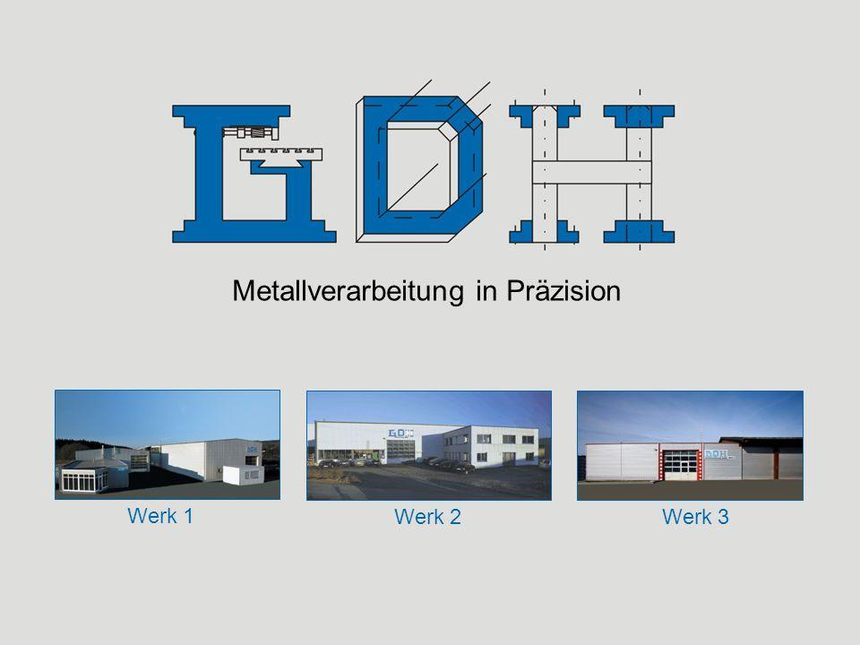 Metallverarbeitung in Präzision