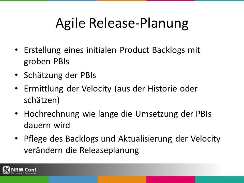 Agile Release-Planung