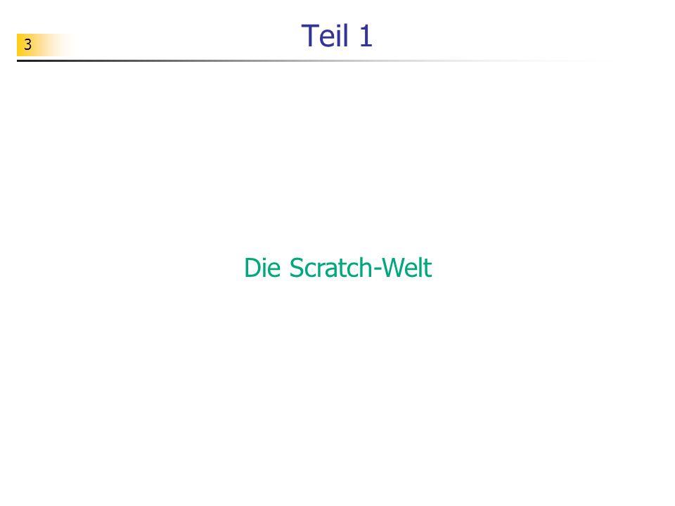 Teil 1 Die Scratch-Welt
