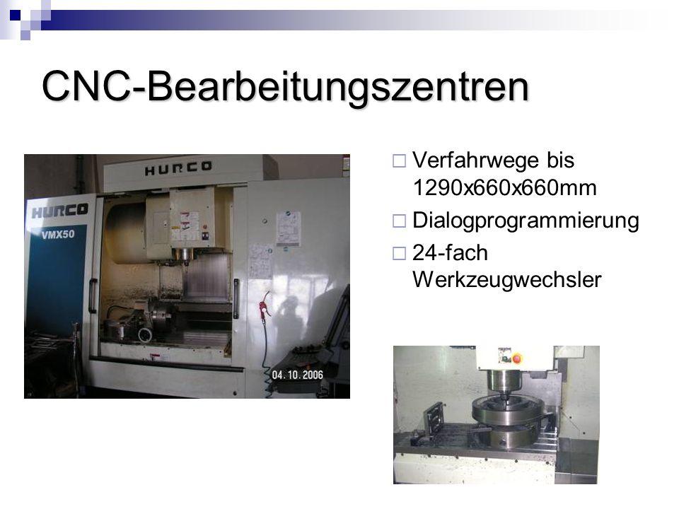CNC-Bearbeitungszentren