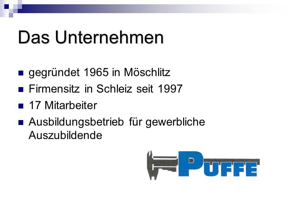 Das Unternehmen gegründet 1965 in Möschlitz