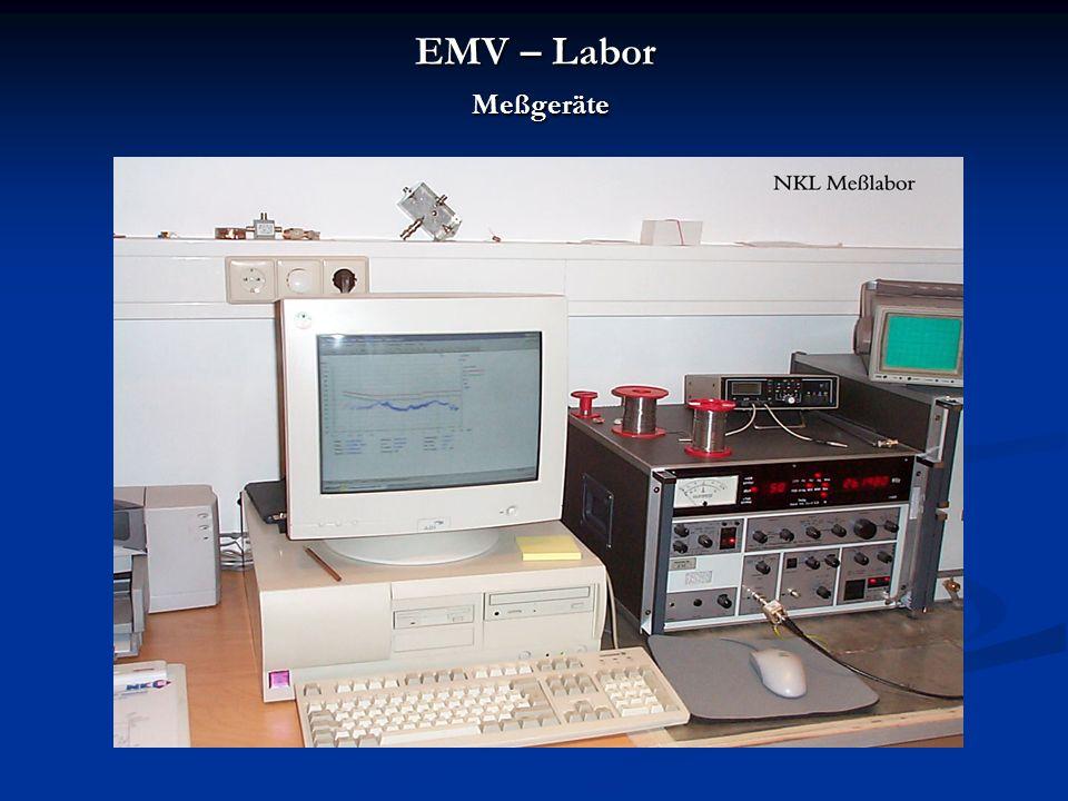EMV – Labor Meßgeräte