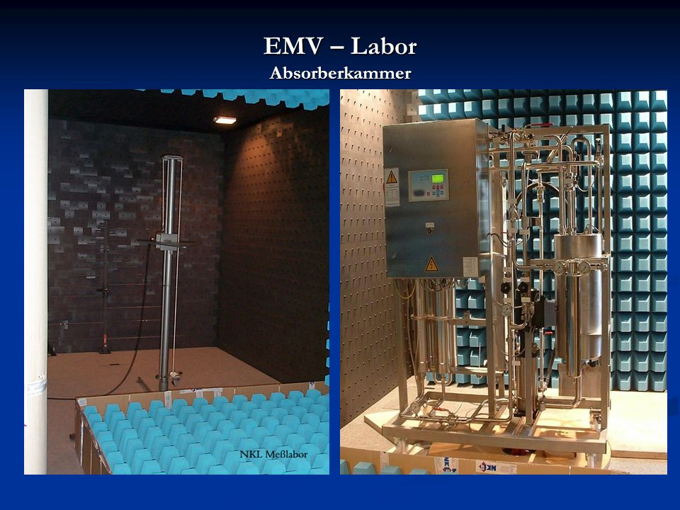 EMV – Labor Absorberkammer