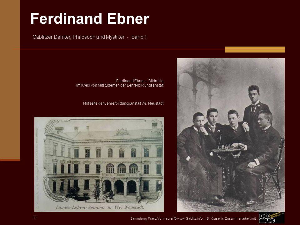 Ferdinand Ebner – Bildmitte