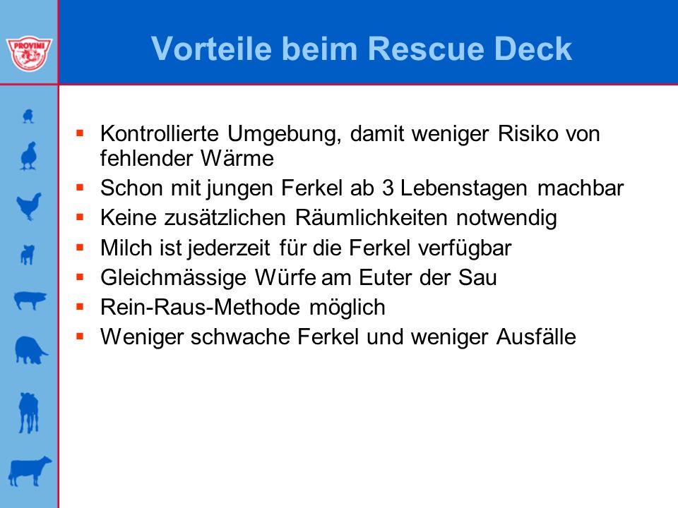 Vorteile beim Rescue Deck