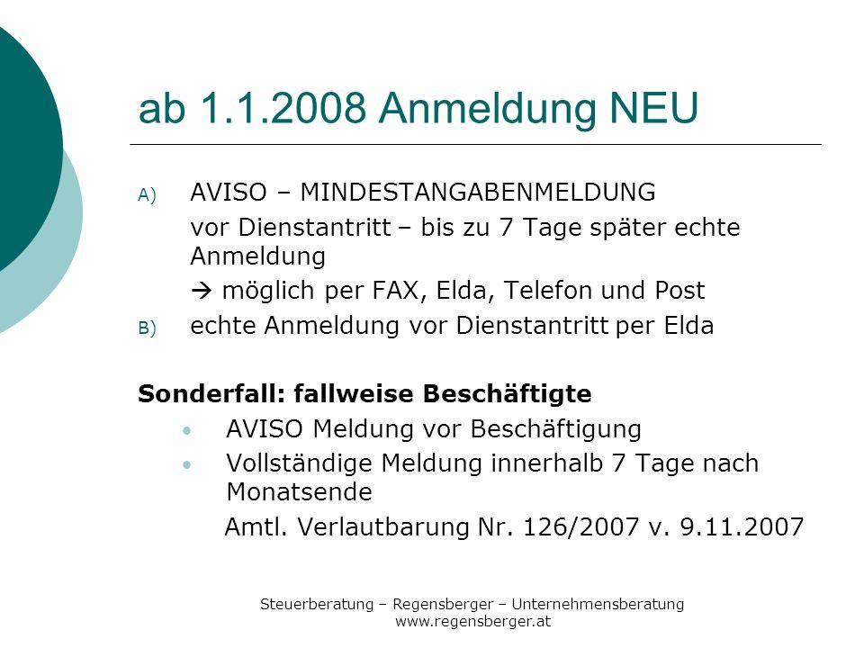 Steuerliche Tipps zum Jahresende 2007
