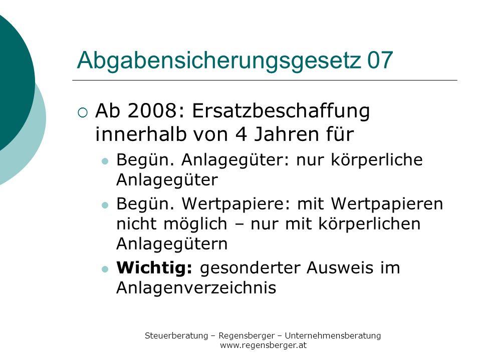 Abgabensicherungsgesetz 07