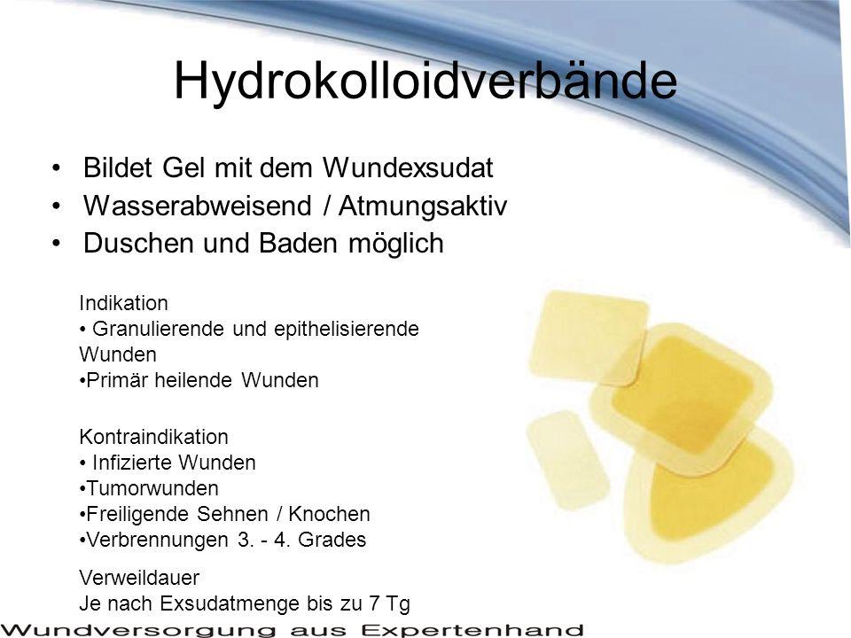 Hydrokolloidverbände