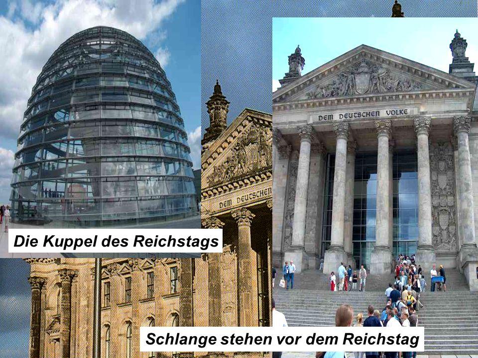 Die Kuppel des Reichstags