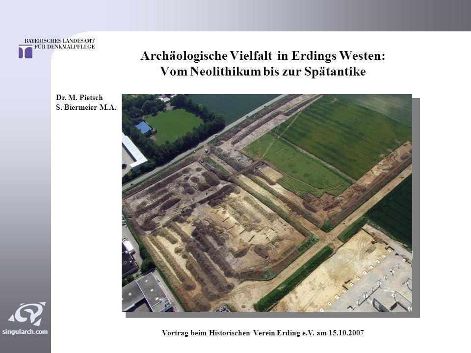 Vortrag beim Historischen Verein Erding e.V. am 15.10.2007