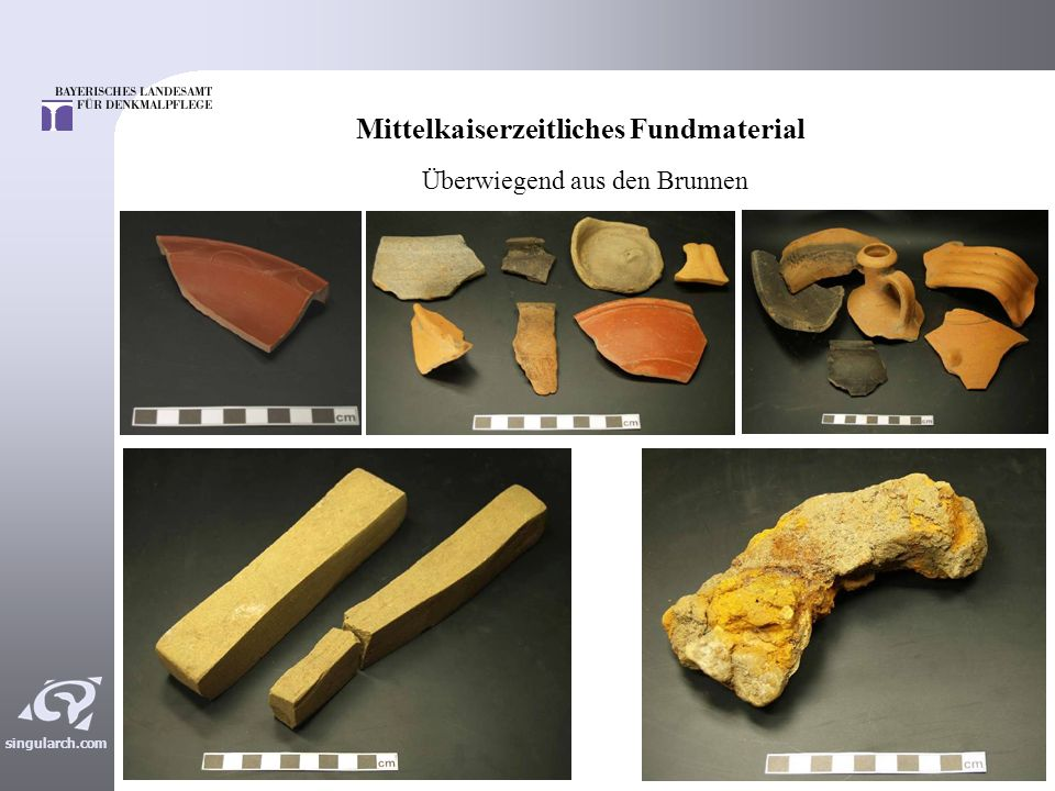 Mittelkaiserzeitliches Fundmaterial