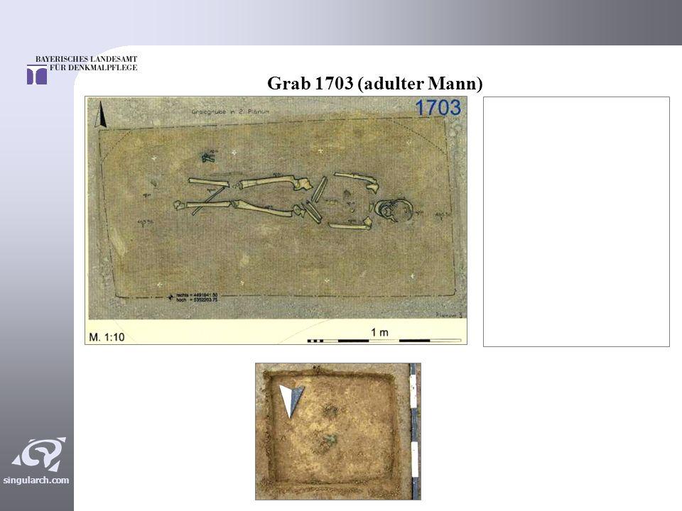 Grab 1703 (adulter Mann)