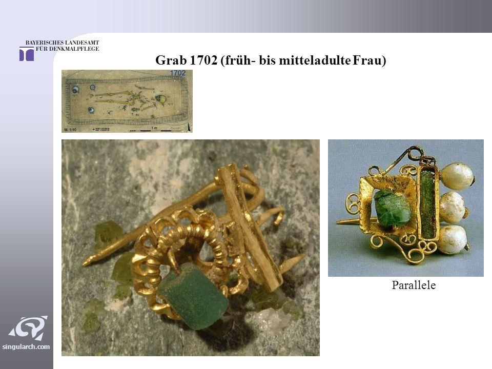 Grab 1702 (früh- bis mitteladulte Frau)