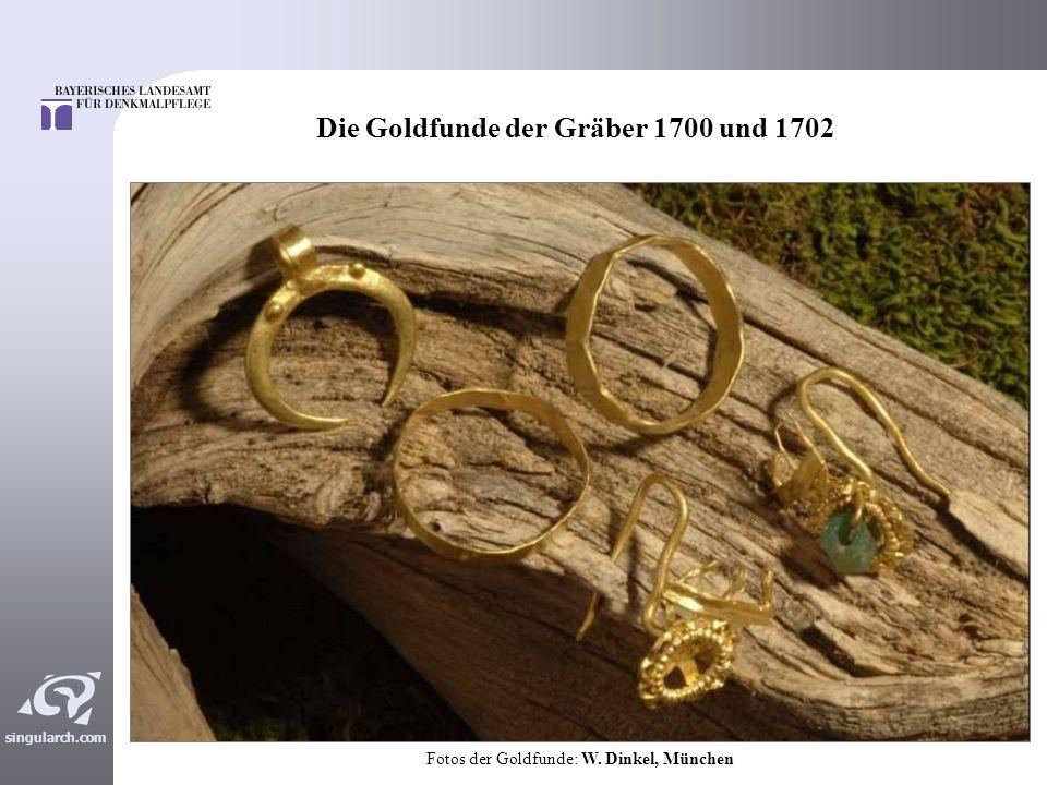 Die Goldfunde der Gräber 1700 und 1702