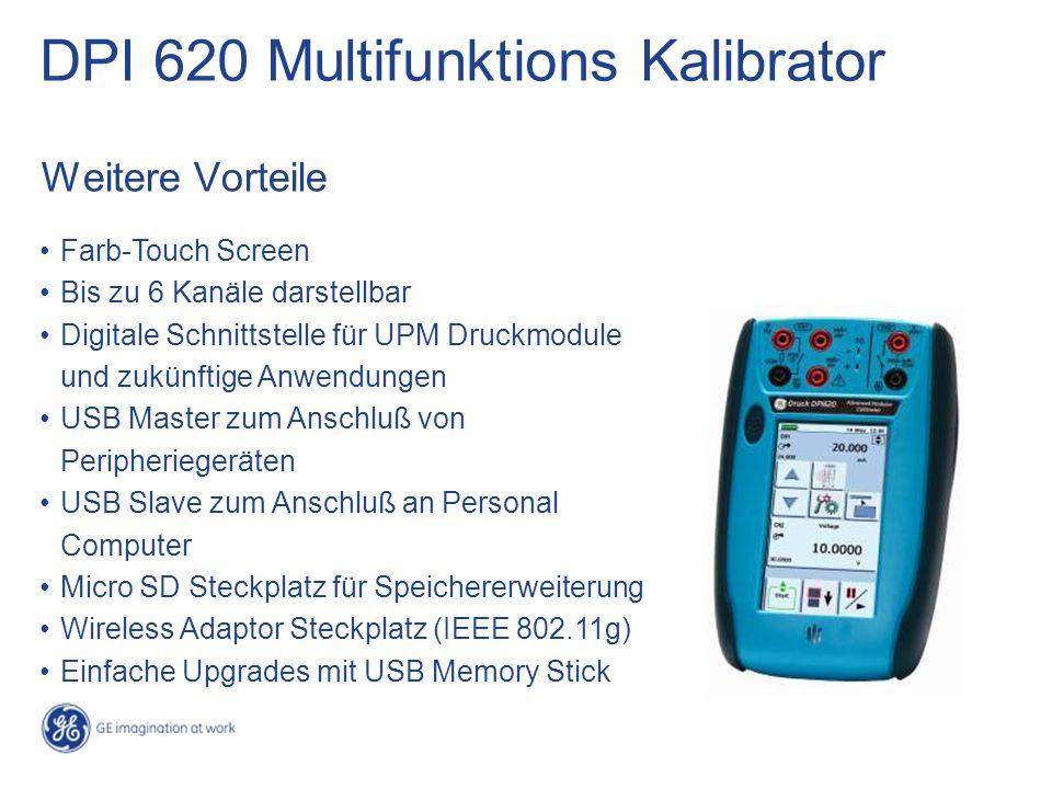 DPI 620 Multifunktions Kalibrator