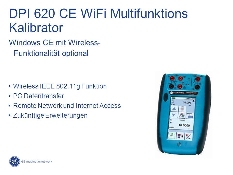 DPI 620 CE WiFi Multifunktions Kalibrator