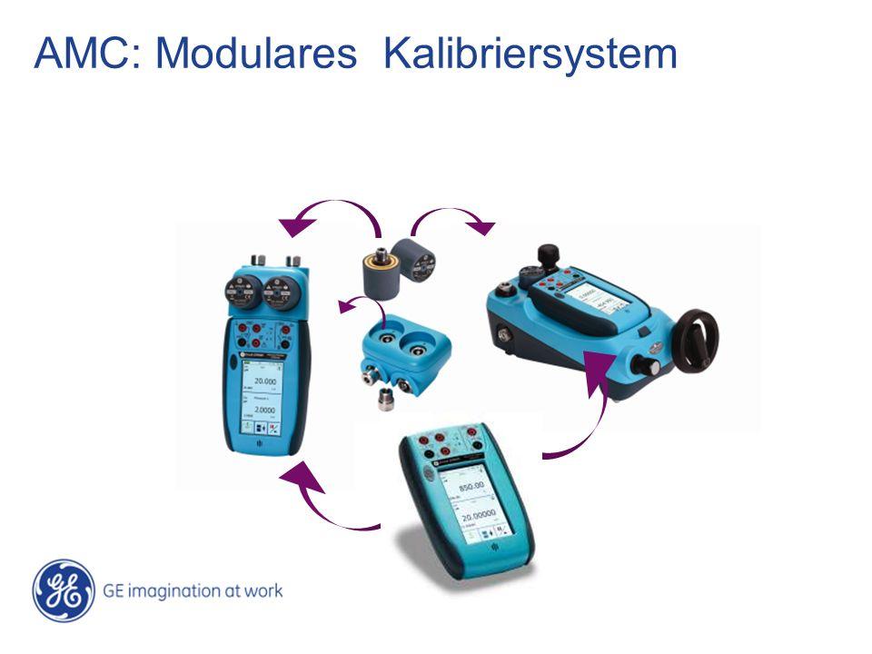 AMC: Modulares Kalibriersystem