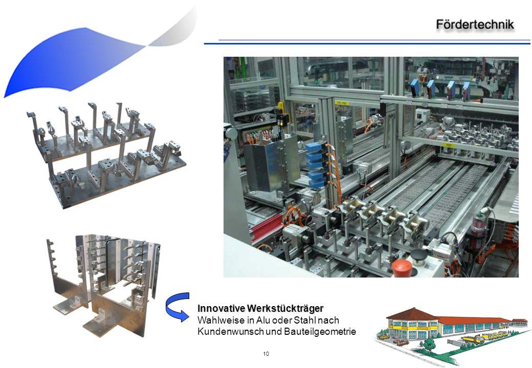 Innovative Werkstückträger Wahlweise in Alu oder Stahl nach Kundenwunsch und Bauteilgeometrie