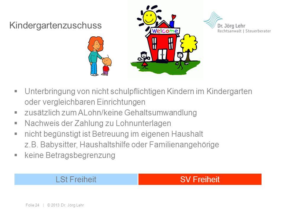 Kindergartenzuschuss