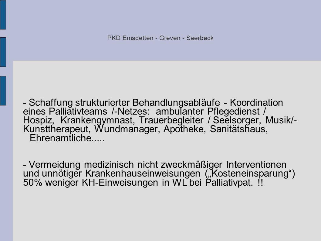 PKD Emsdetten - Greven - Saerbeck
