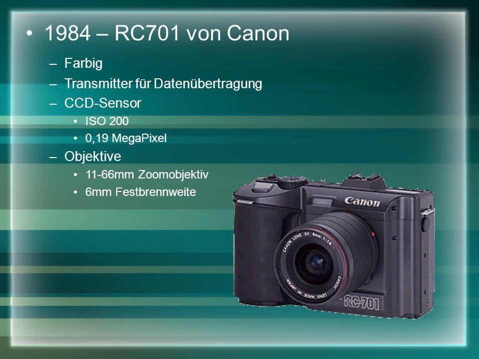 1984 – RC701 von Canon Farbig Transmitter für Datenübertragung