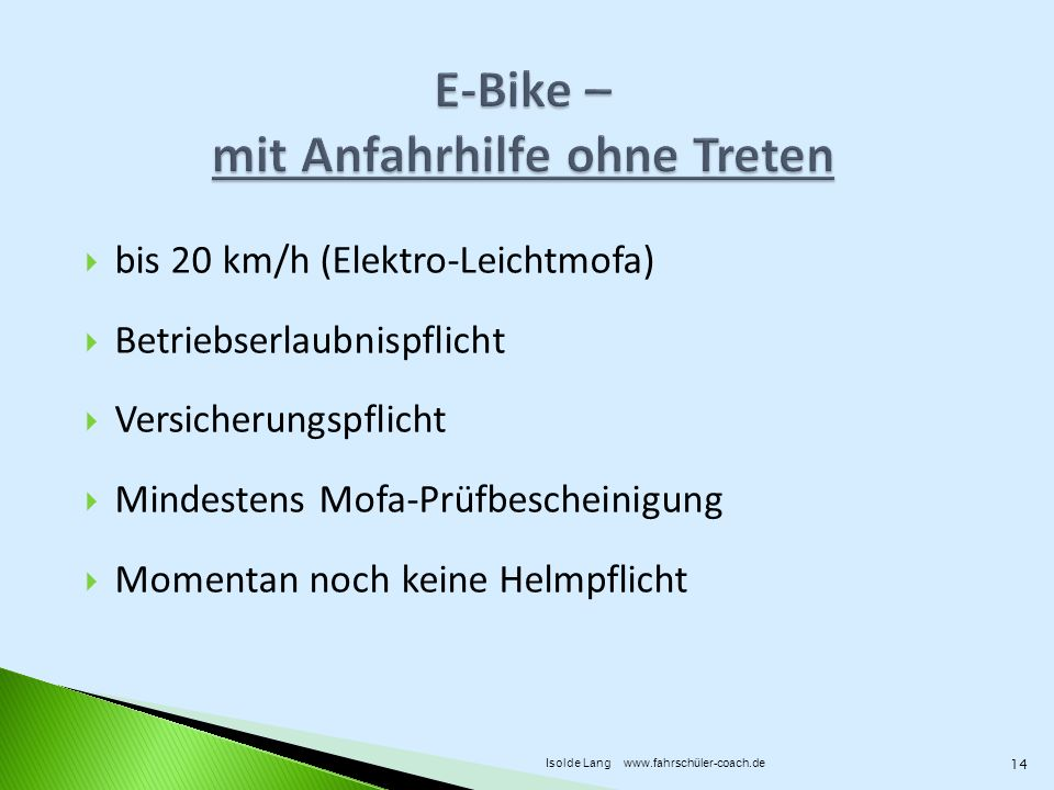 fahrrad pedelec oder lieber e bike fahren ppt video. Black Bedroom Furniture Sets. Home Design Ideas