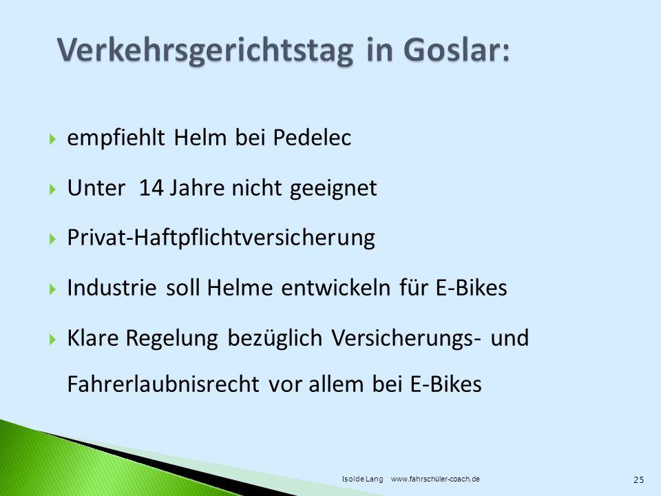 Verkehrsgerichtstag in Goslar: