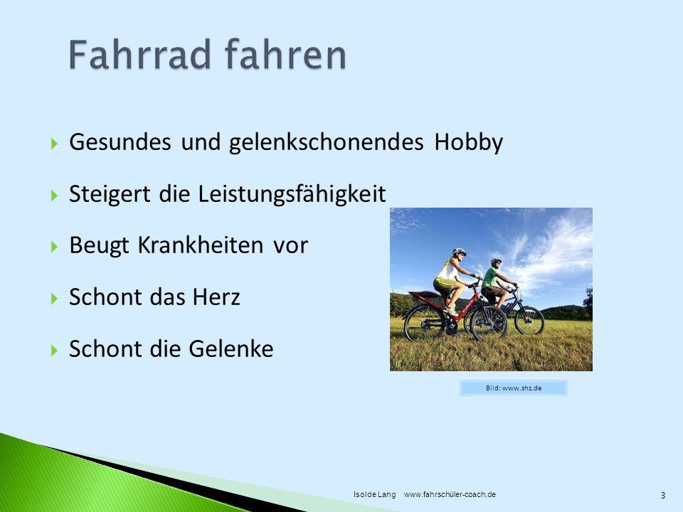 Fahrrad fahren Gesundes und gelenkschonendes Hobby