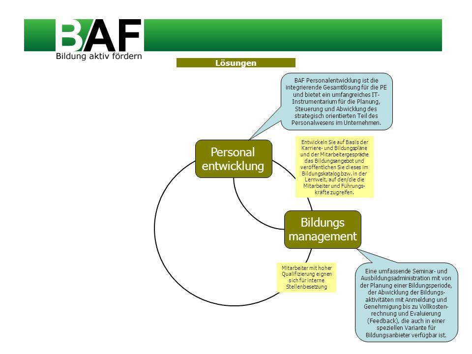 Personal entwicklung Bildungs management Lösungen