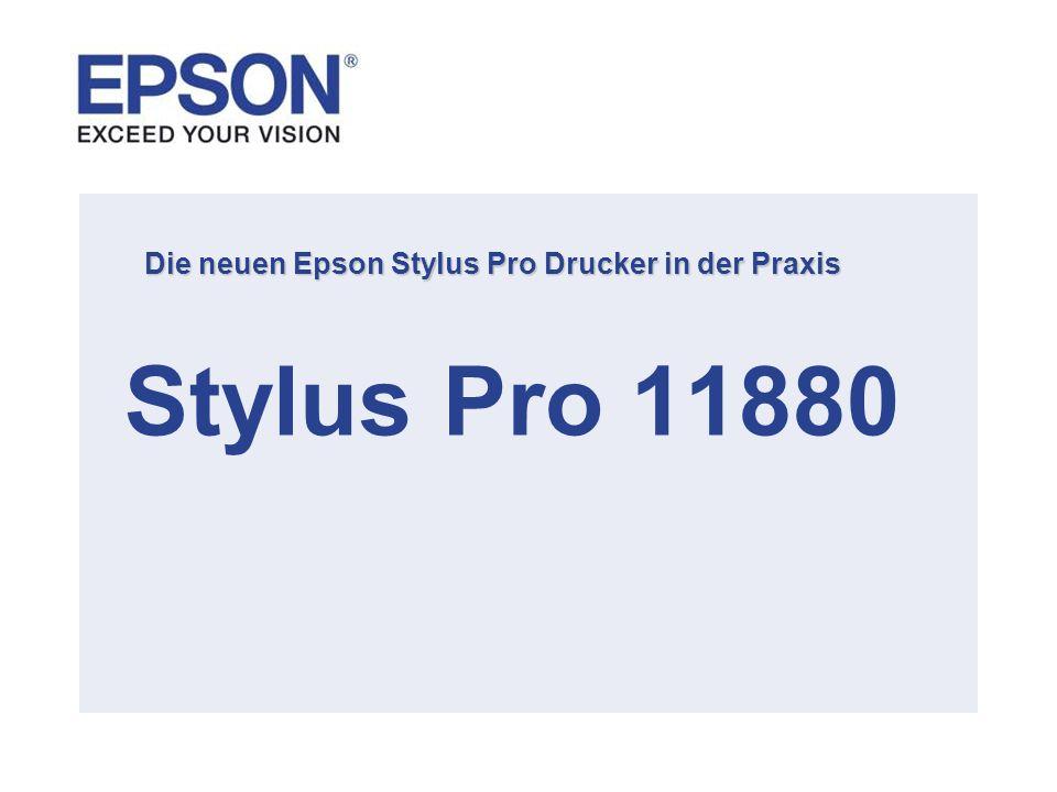 Die neuen Epson Stylus Pro Drucker in der Praxis